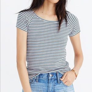 Madewell Striped Canal Top